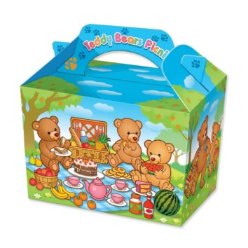 Party Bags - Food Boxes Teddy Bears Picnic - Wholesale party accessories uk
